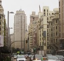 1 View north Gran Via